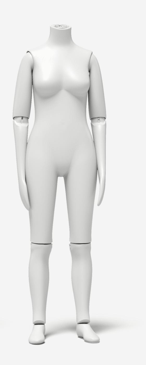 Female fit mannequin