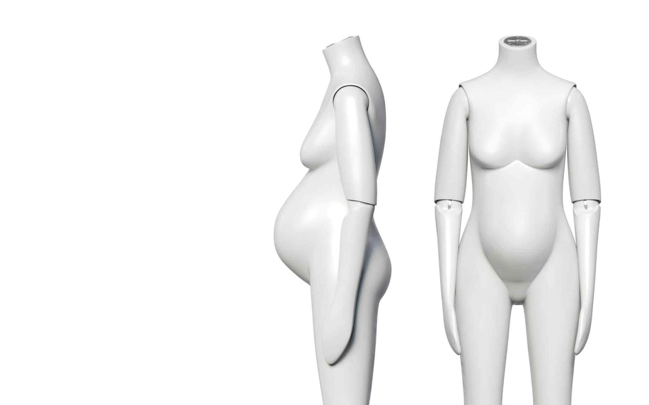 Maternity body shapes
